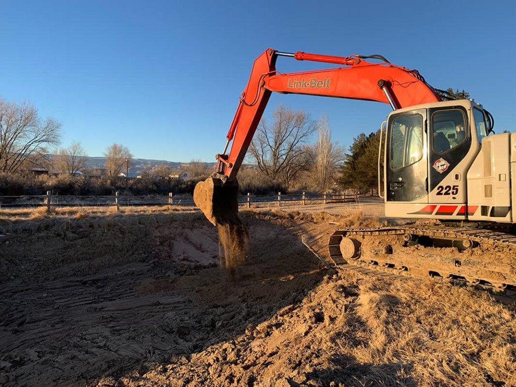Large Pond Excavation